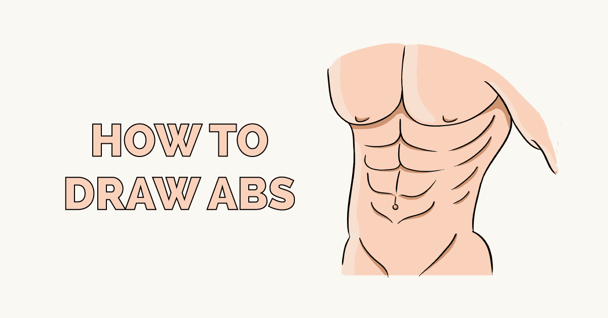 How to Draw Abs Featured Image