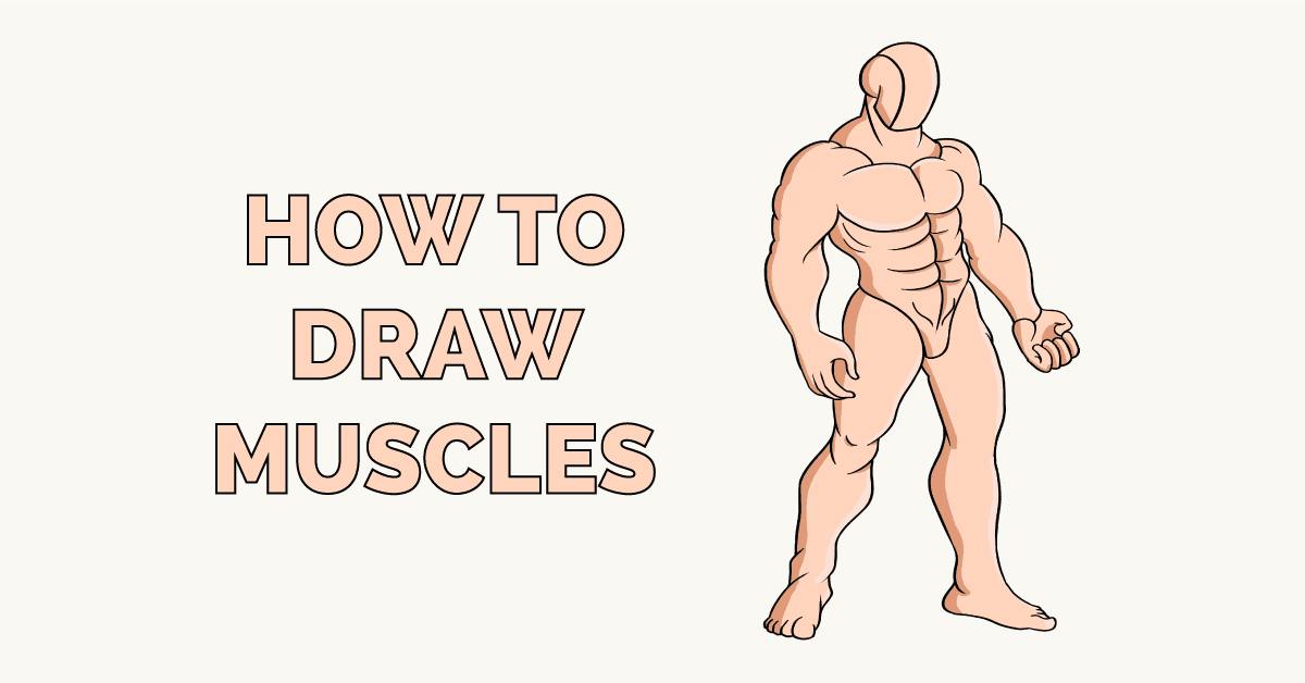 How to Draw Muscles Featured Image