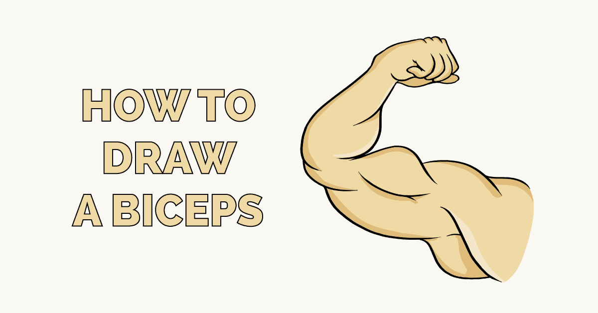 How to Draw a Biceps Featured Image