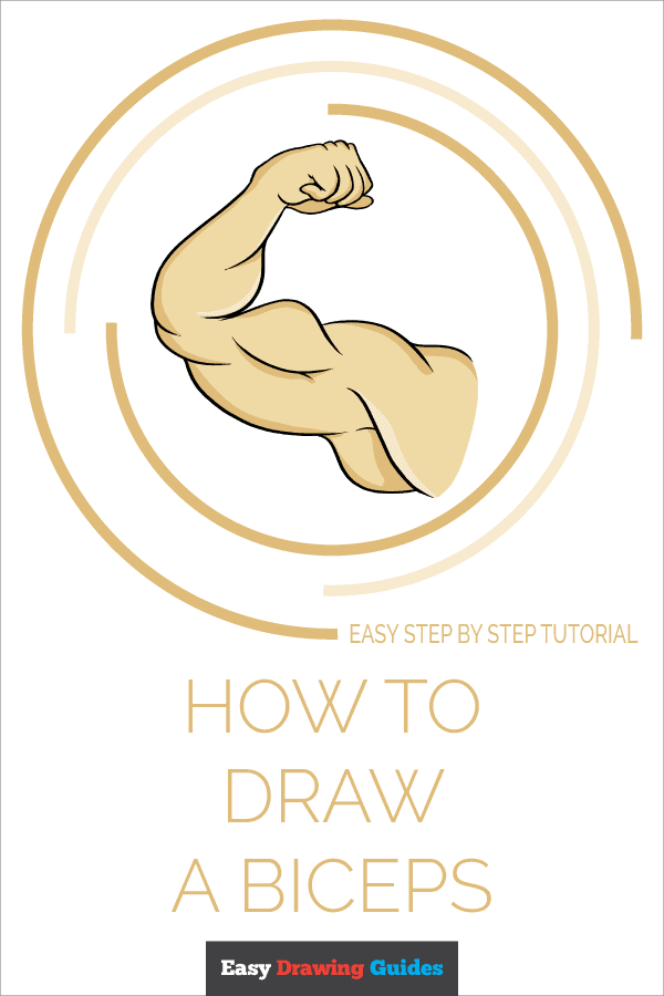 How to Draw Biceps | Share to Pinterest