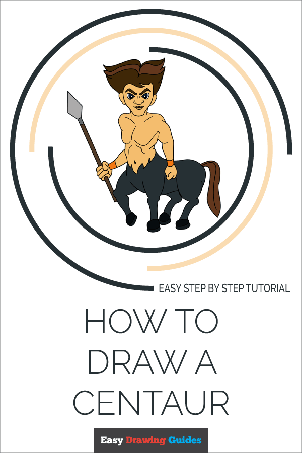 How to Draw Centaur | Share to Pinterest