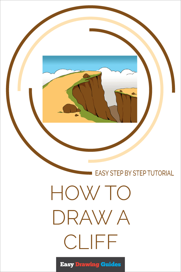 How to Draw Cliff | Share to Pinterest