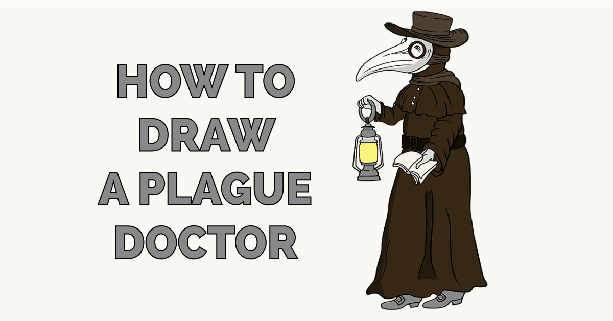 How to Draw a Plague Doctor Featured Image