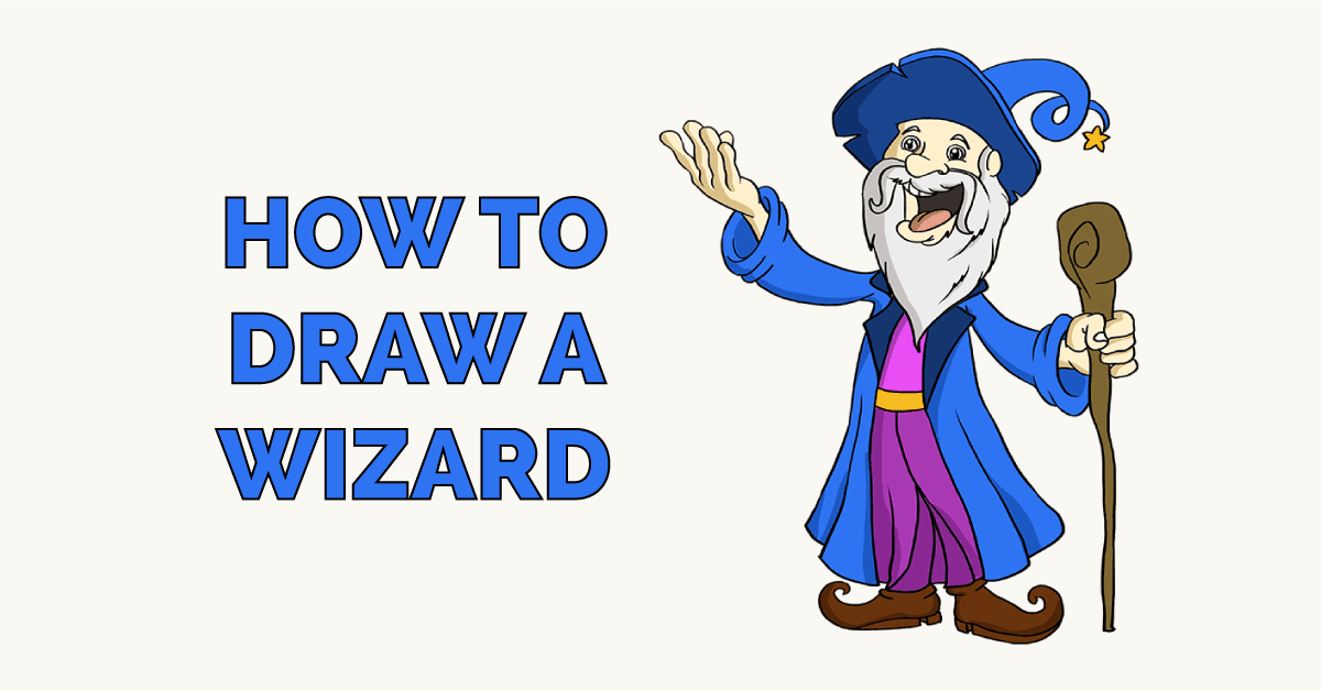 How to Draw a Wizard Featured Image