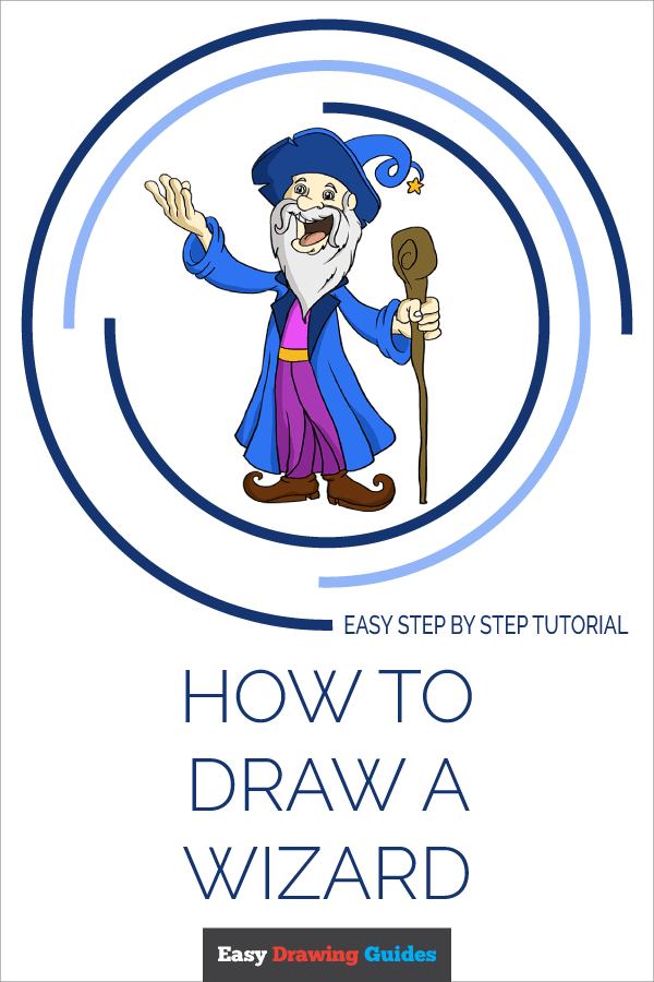 How to Draw Wizard | Share to Pinterest