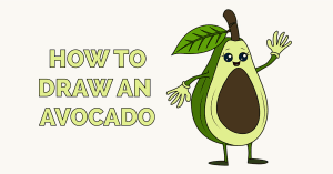 How to Draw an Avocado Featured Image