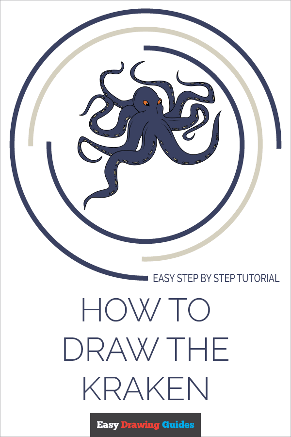 How to Draw Kraken | Share to Pinterest
