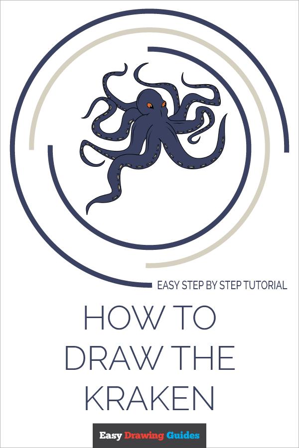 How to Draw Kraken | Share to Pinterest