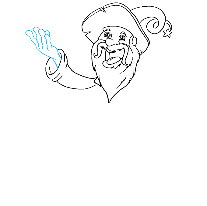 How to Draw Wizard: Step 5