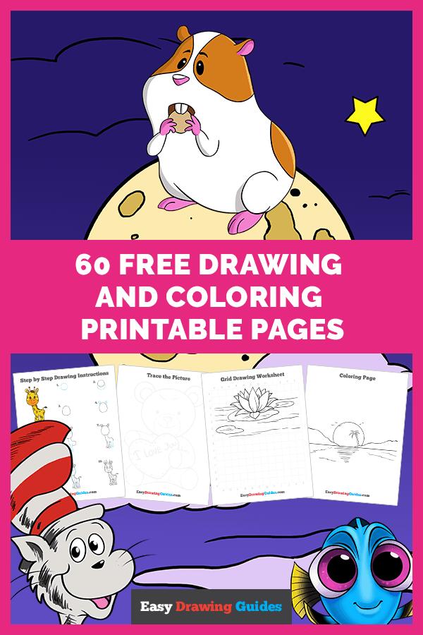 Free printable pages bundles - Pinterest image