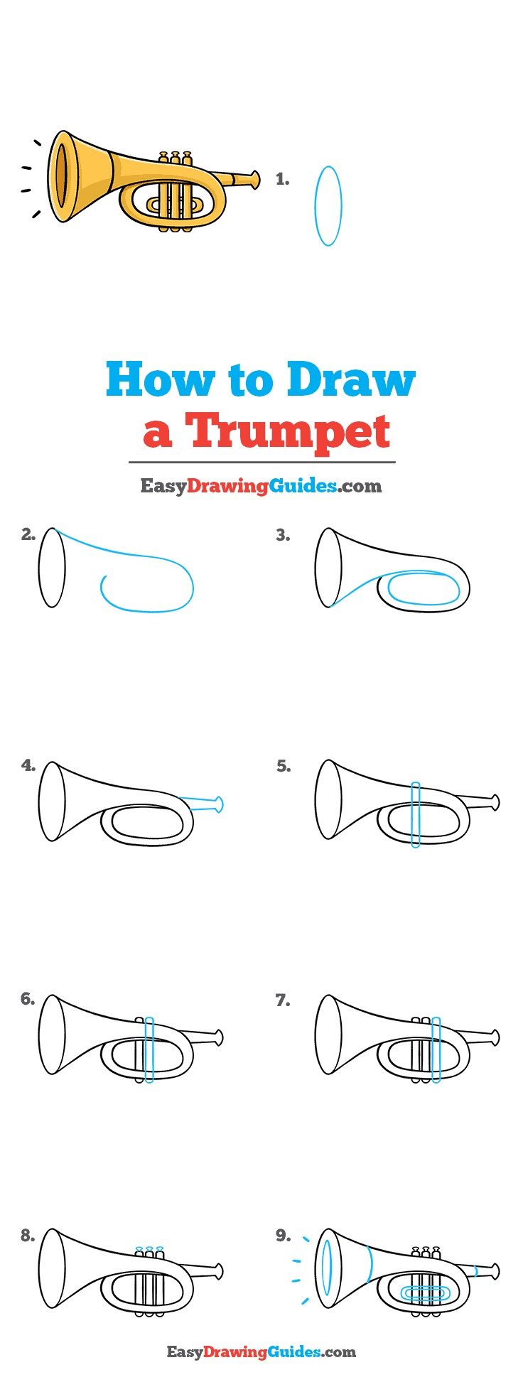 How to Draw Trumpet