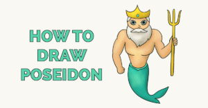 How to Draw Poseidon Featured Image