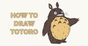 How to Draw Totoro Featured Image