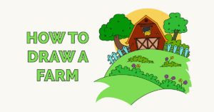How to Draw a Farm Featured Image