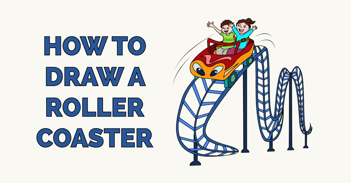 How to Draw a Roller Coaster Featured Image