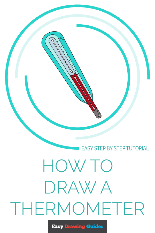 How to Draw Thermometer | Share to Pinterest