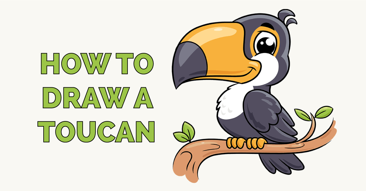 How to Draw a Toucan Featured Image