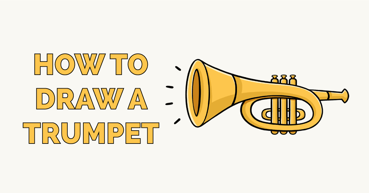 How to Draw a Trumpet Featured Image