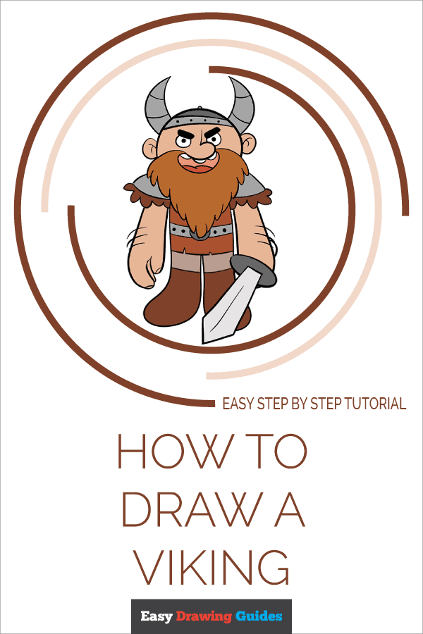 How to Draw a Viking Pinterest Image
