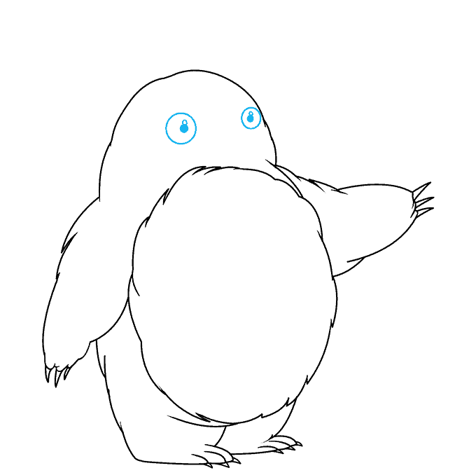 How to Draw Totoro: Step 5