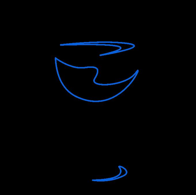 How to Draw Wine Glass: Step 9