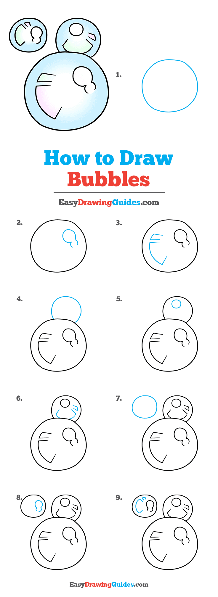 How to Draw Bubbles