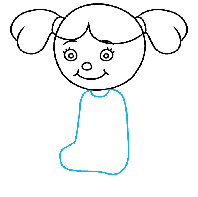 How to Draw Doll: Step 5