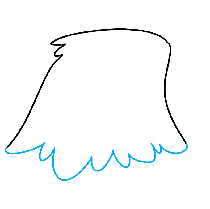 How to Draw Eagle Head: Step 2