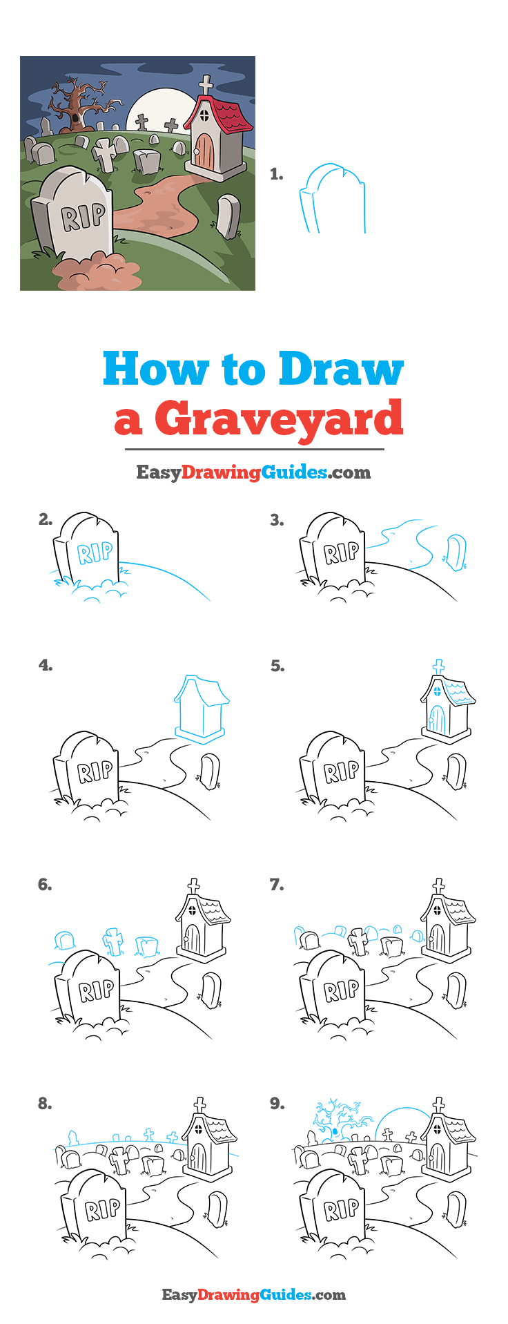 How to Draw Graveyard