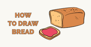 How to Draw Bread Featured Image