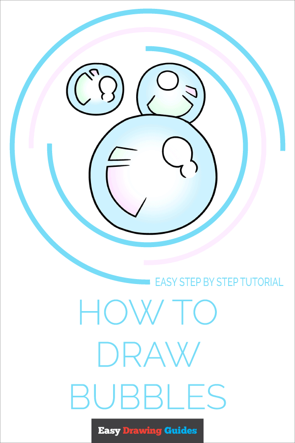 How to Draw Bubbles | Share to Pinterest