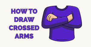How to Draw Crossed Arms Featured Image