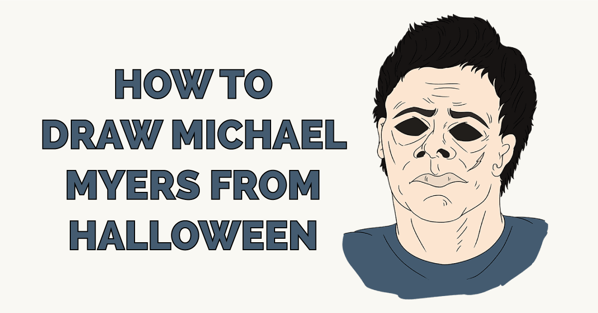 How to Draw Michael Myers from Halloween Featured Image