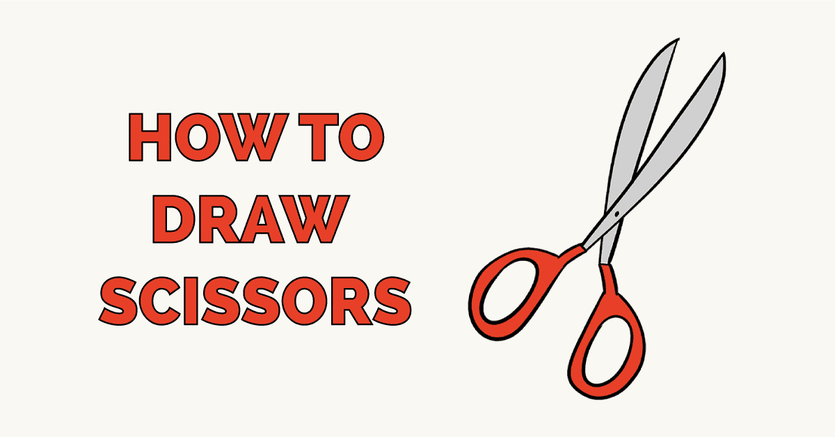 How to Draw Scissors Featured Image