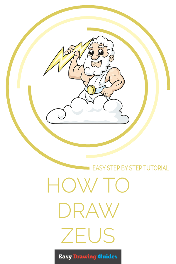 How to Draw Zeus Pinterest Image
