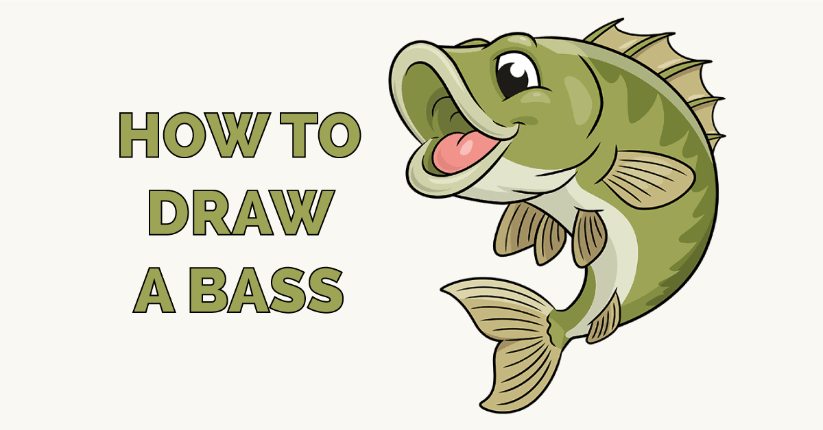 How to Draw a Bass Featured Image