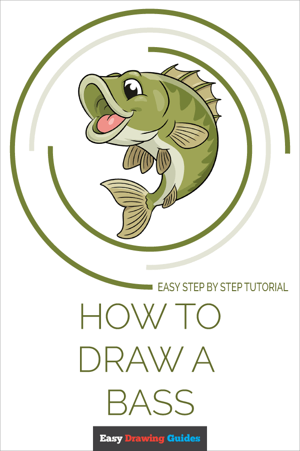 How to Draw a Bass Pinterest Image