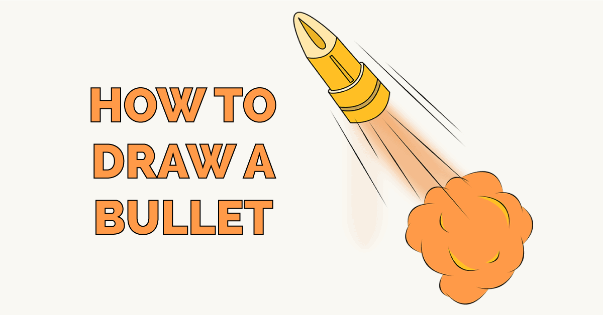 how to Draw a Bullet Featured Image