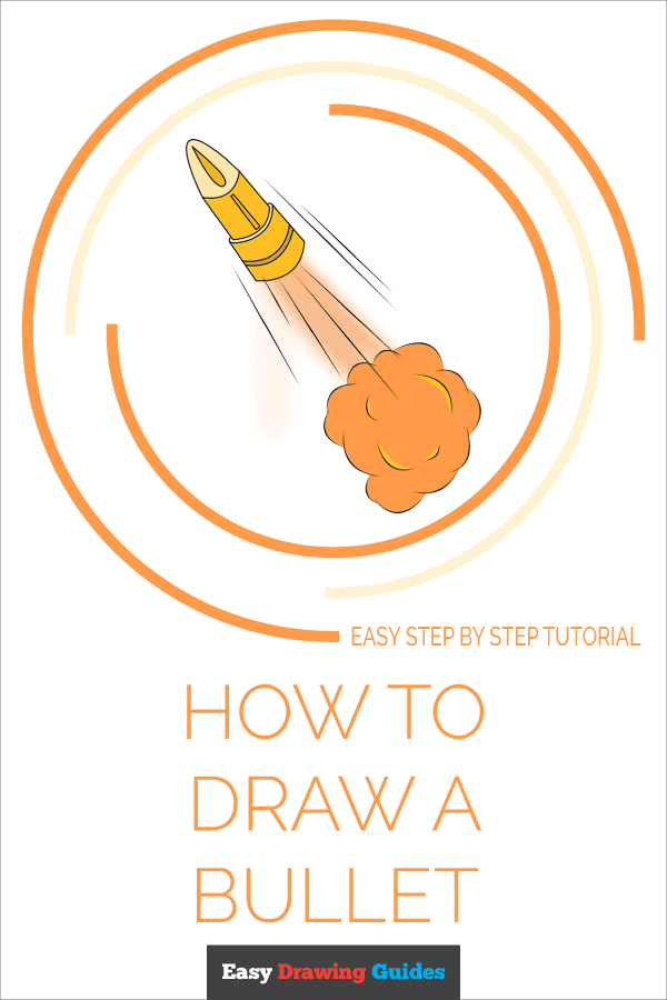 How to Draw Bullet | Share to Pinterest
