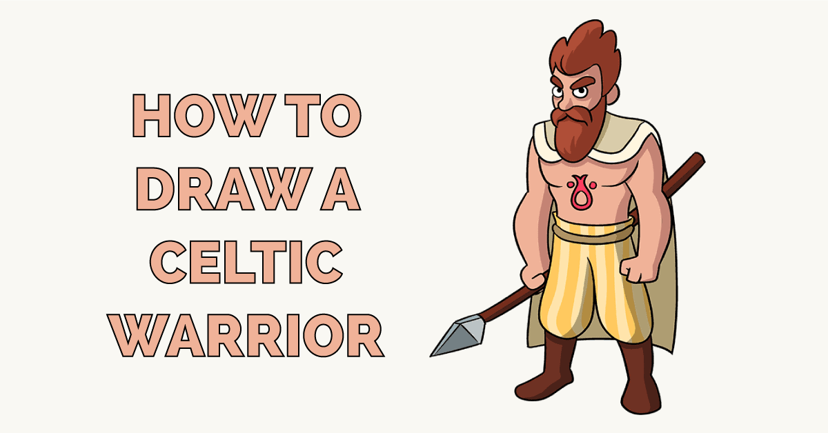 How to Draw a Celtic Warrior Featured Image