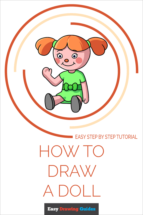 How to Draw Doll | Share to Pinterest
