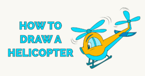 How to Draw a Helicopter Featured Image