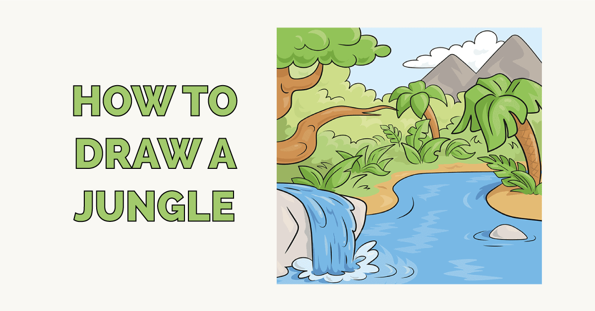 How to Draw a Jungle Featured Image