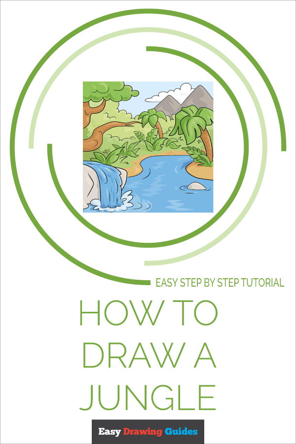 How to Draw Jungle | Share to Pinterest