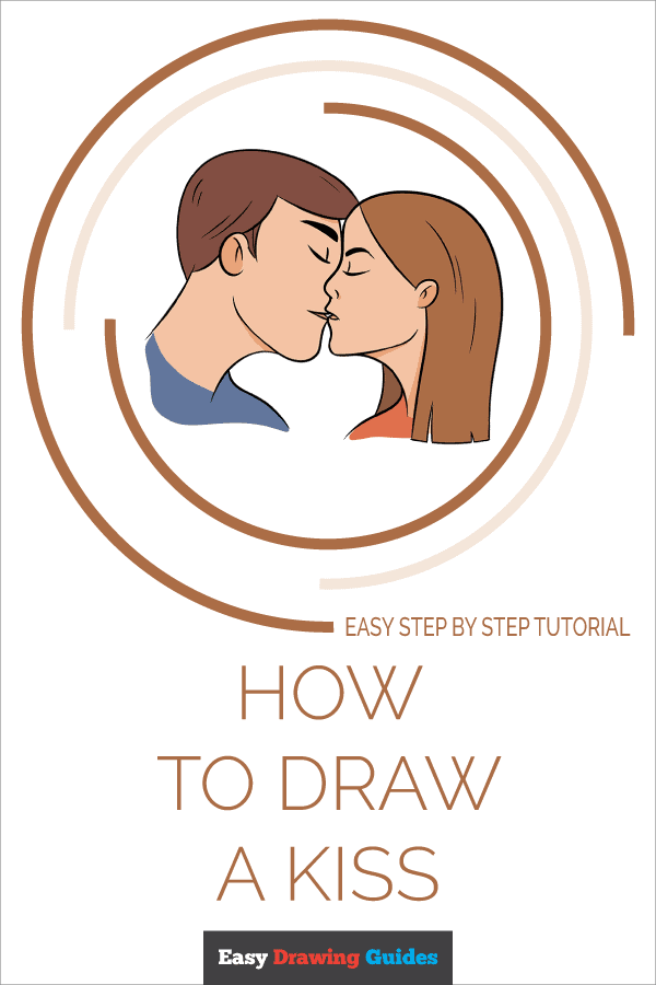 How to Draw Kiss | Share to Pinterest
