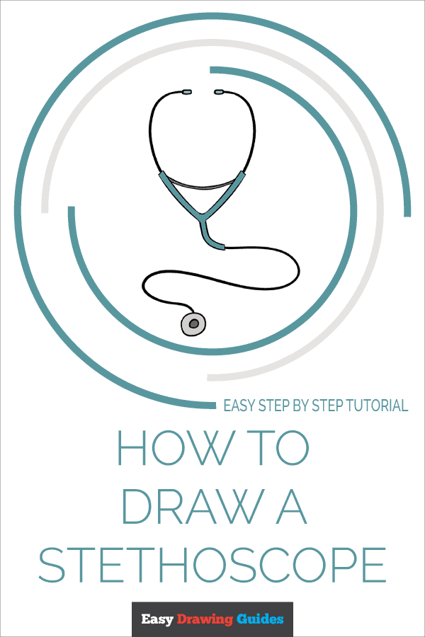 How to Draw Stethoscope | Share to Pinterest