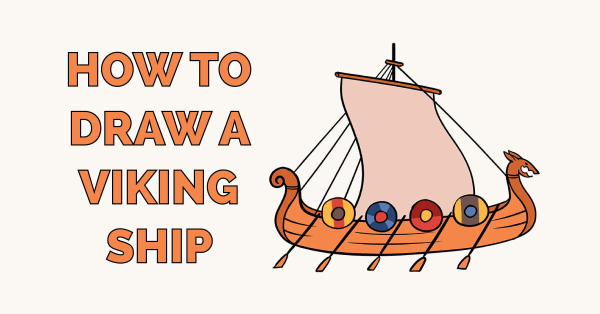 How to Draw a Viking Ship Featured Image