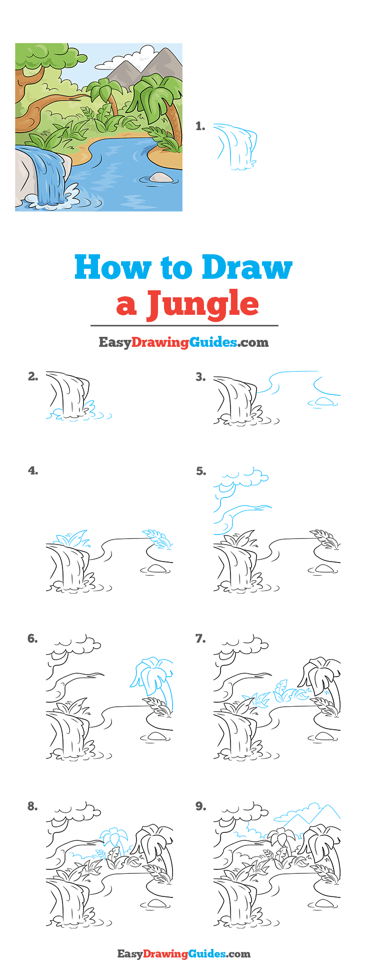 How to Draw Jungle