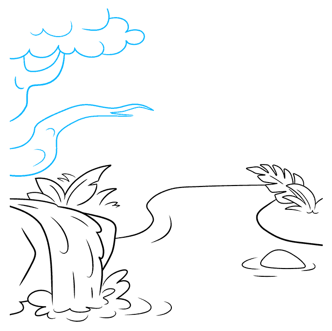 How to Draw Jungle: Step 5