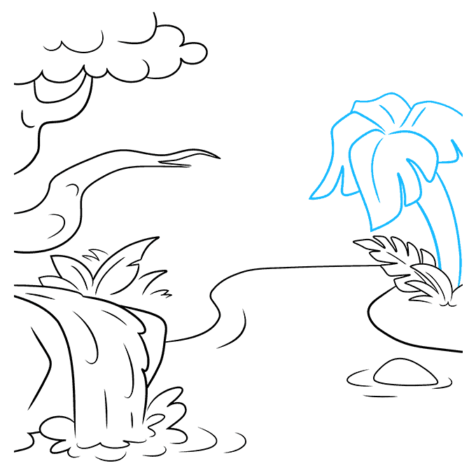 How to Draw Jungle: Step 6